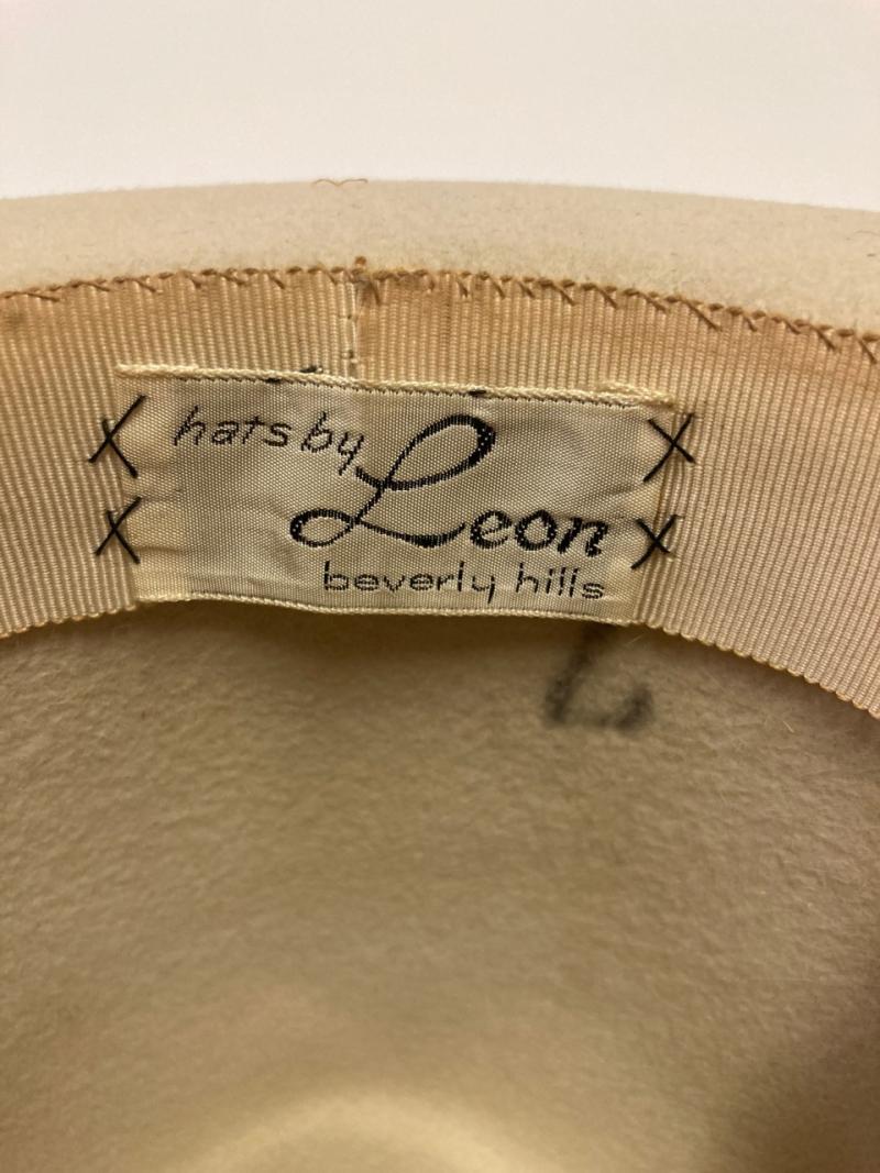 Cream Fedora Label