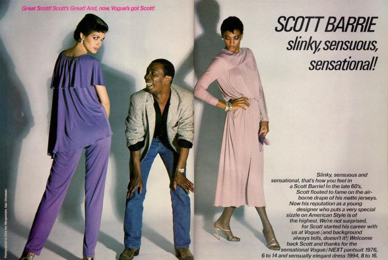 Scott Barrie - Vogue Patterns