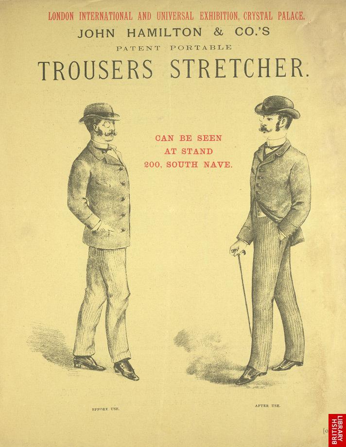 Image 5. Advert For John Hamilton & Co's Trouser Press. Back. The British Library