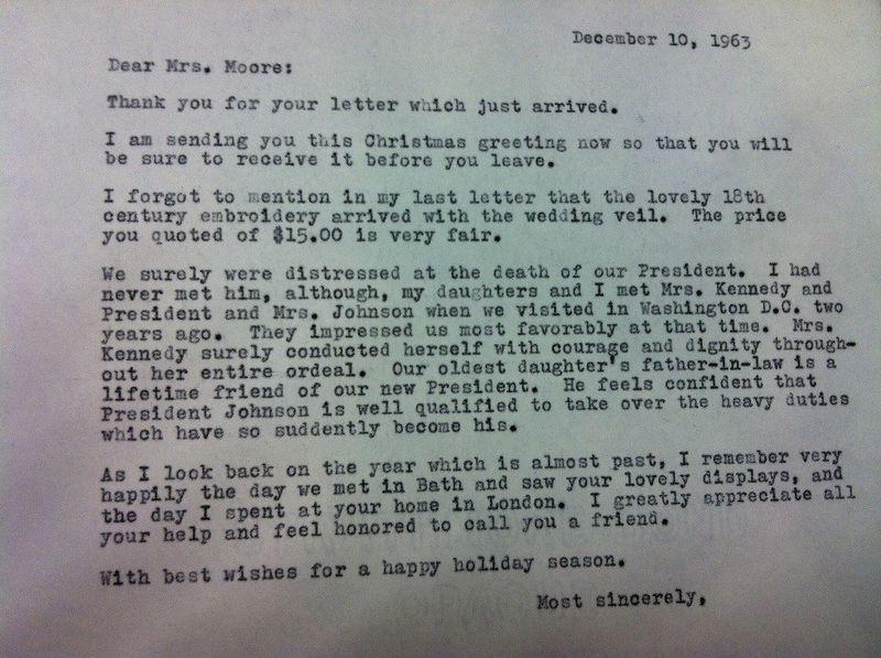 Larson - Moore Letter